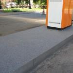 Wylewka antypoślizgowa olejoodporna - Stacja Paliw MPO Kraków