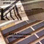 Abra 3 - Sosnowiec - nakładki antypoślizgowe na schody