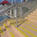 Baseny Termalne 2 - Bukowina Tatrzańska - zabezpieczenie antypoślizgowe schodów