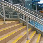 Baseny Termalne - Bukowina Tatrzańska - zabezpieczenie antypoślizgowe schodów