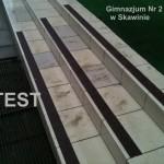 Gimnazjum nr. 2 - Skawina - Test - taśma antyposlizgowa