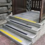 Ośrodek Sportowy - Kościelisko-Zakopane 3 - oznakowanie schodów