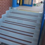 Ośrodek Sportu i Rekreacji - Zabierzów - pasy antypoślizgowe na schody