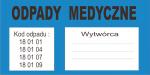 Odpady medyczne - Kod odpadu 18.01.01 - indywidualne zamówienie