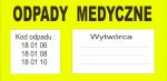 Odpady medyczne - Kod odpadu 18.01.06 - indywidualne zamówienie
