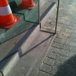 Sąd Okręgowy Katowice - pasy antypoślizgowe - próba