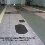 Stacja diagnostyczna MZU - Skawina - mata antypoślizgowa