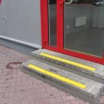 U Jędrusia 2 - Kraków - oznakowanie schodów