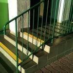 WKU - Oświęcim - 3 - antypoślizgowe oznakowanie schodów